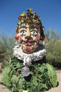 The Four Seasons by Philip Haas at Desert Botanical Garden, Mesa