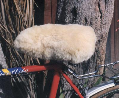 City of Sheep Skin Bike Seats