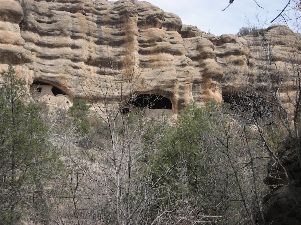 Photos of Gila Cliff Dwellings