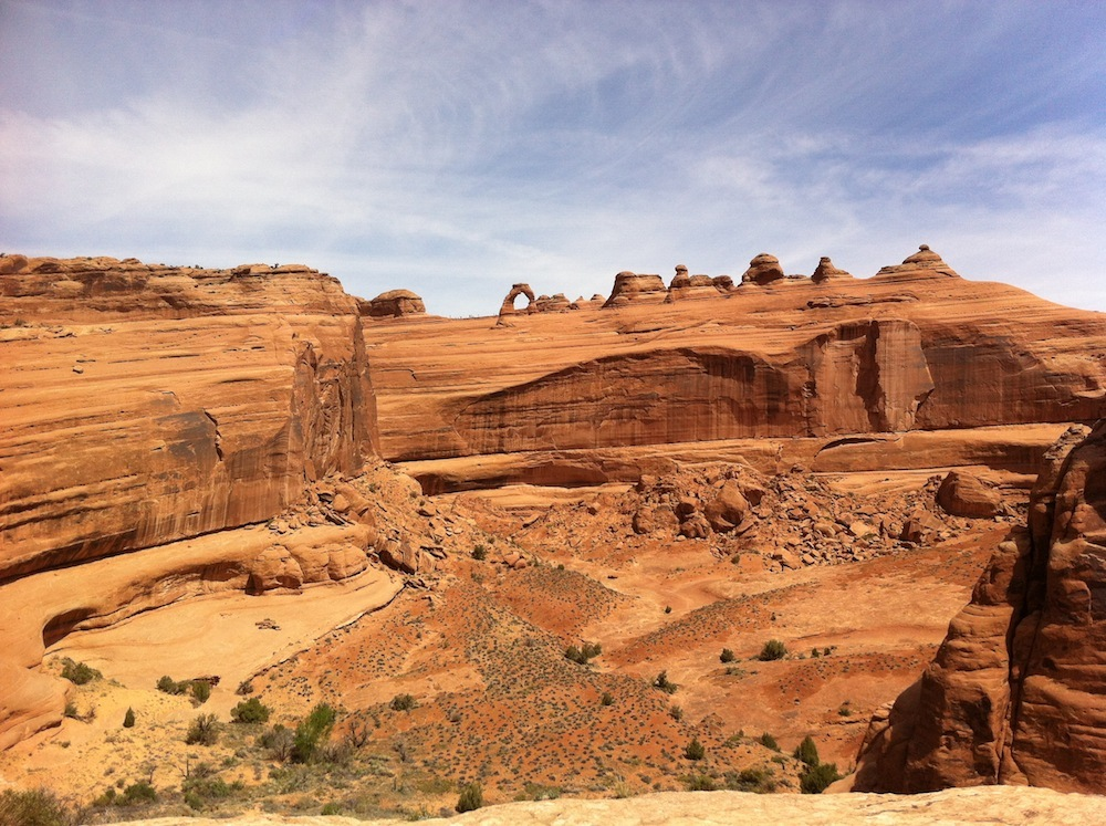 Delicate Arch and the ant-people