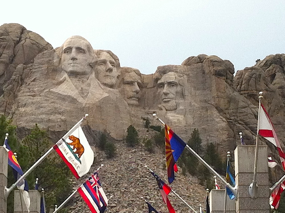 state-flags-mount-rushmore