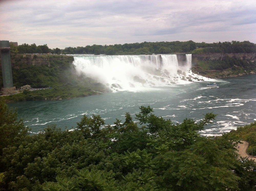 American Falls - seen from the Canadian side.