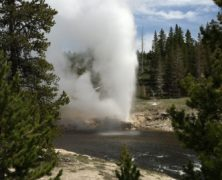 Biking Around Old Faithful – Photos