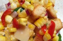 Roasted Corn Salad – Easy Peasy